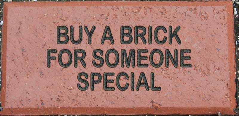 BUY A BRICK & LEAVE A LEGACY