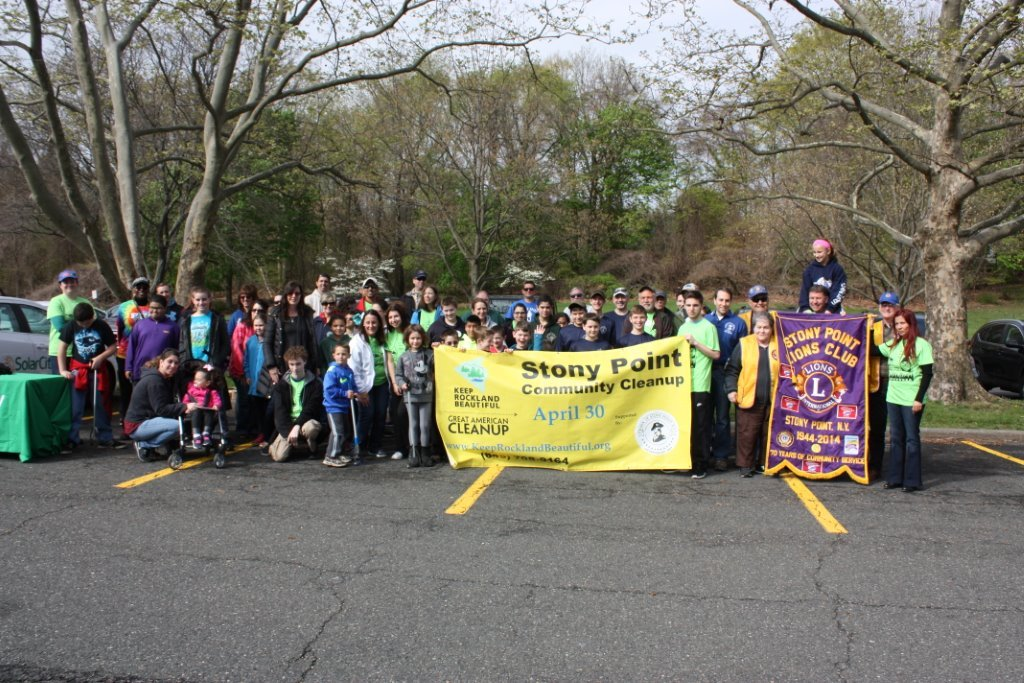 Thank you to all our volunteers who participated in the 2016 Great American Cleanup