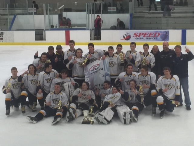 Supervisor Jim Monaghan and the Stony Point Town Board wish to congratulate the Palisades Predators including our very own Stony Point players on winning the NY State Hockey Championship!